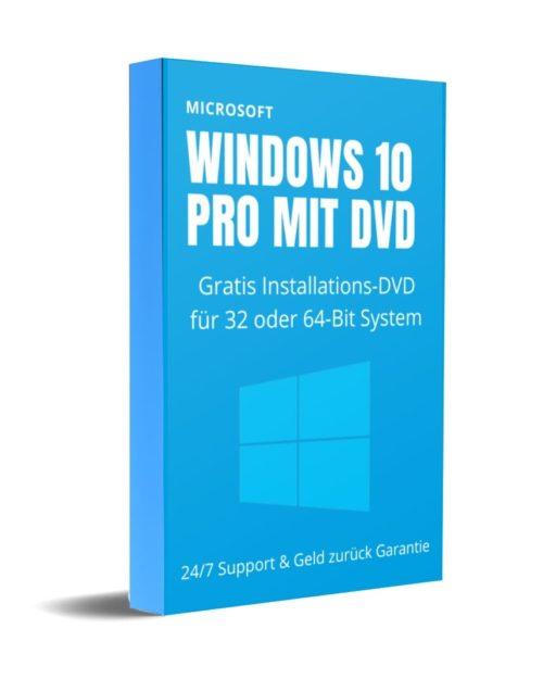 Windows10 Pro mit DVD