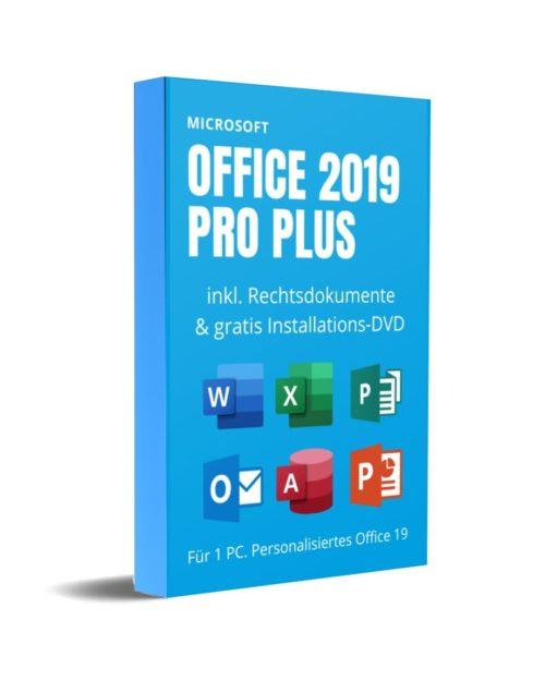 Office 2019 Professional Plus mit DVD