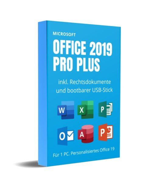 Office 2019 Pro Plus mit USB-Stick