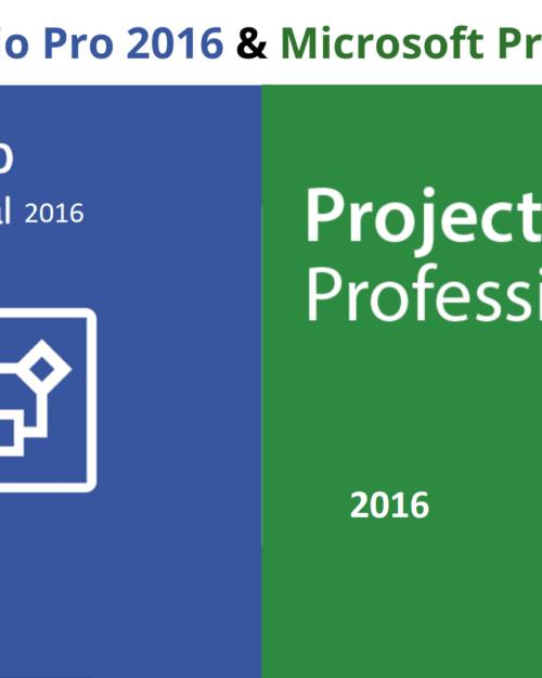 Office Pro Plus 16 mit Visio und Project