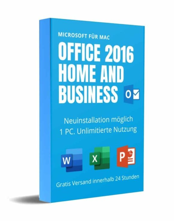 Office 2016 Home and Business für MAC