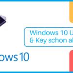 Windows 10 USB-Stick & Key