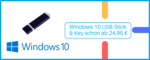 Read more about the article Windows 10 USB-Stick & Key