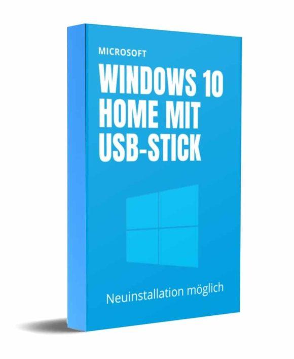 Windows 10 Home mit USB-Stick