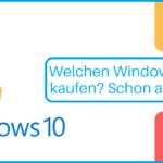 Windows 10 Key kaufen