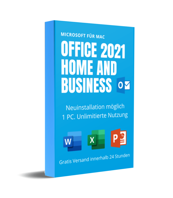 Microsoft Office 2021 Home and Business für MAC