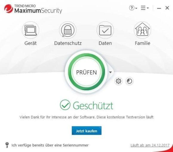 Trend Micro Titanium Maximum Security 1